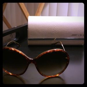 Jimmy Choo Bella Tortoise Sunglasses